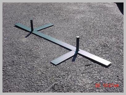 M.A.D. Agility Equipment Colored 2 x 2 Weave Poles