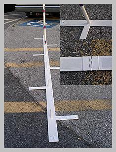 M.A.D. Agility Equipment Colored AKC Weave Poles