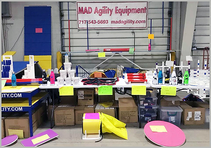 M.A.D. Agility Equipment Price List