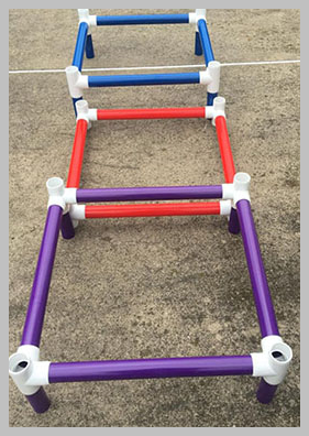 M.A.D. Agility Equipment PVC Ladder